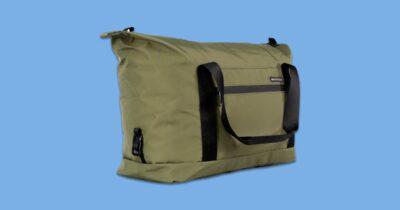 WaterField packable duffel bag