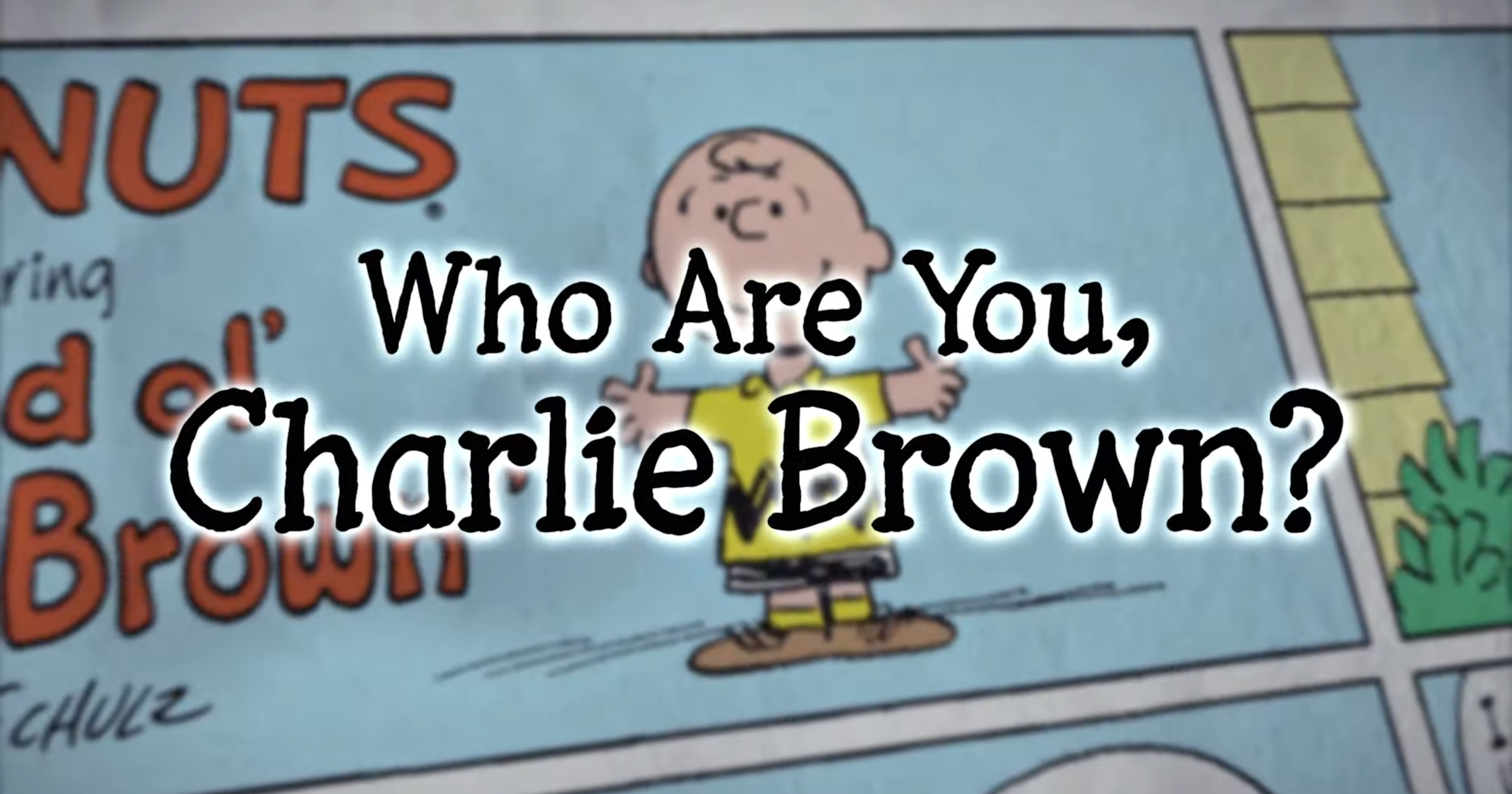 Who Are You Charlie Brown Apple TV+