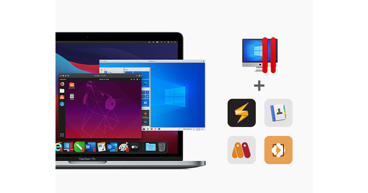 The All-Star Mac Bundle Featuring Parallels Pro