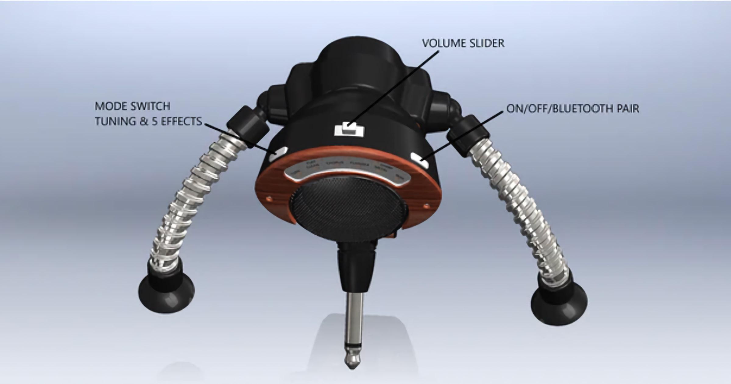 Portable Guitar Amp 'AMPBOT' Launches on Kickstarter