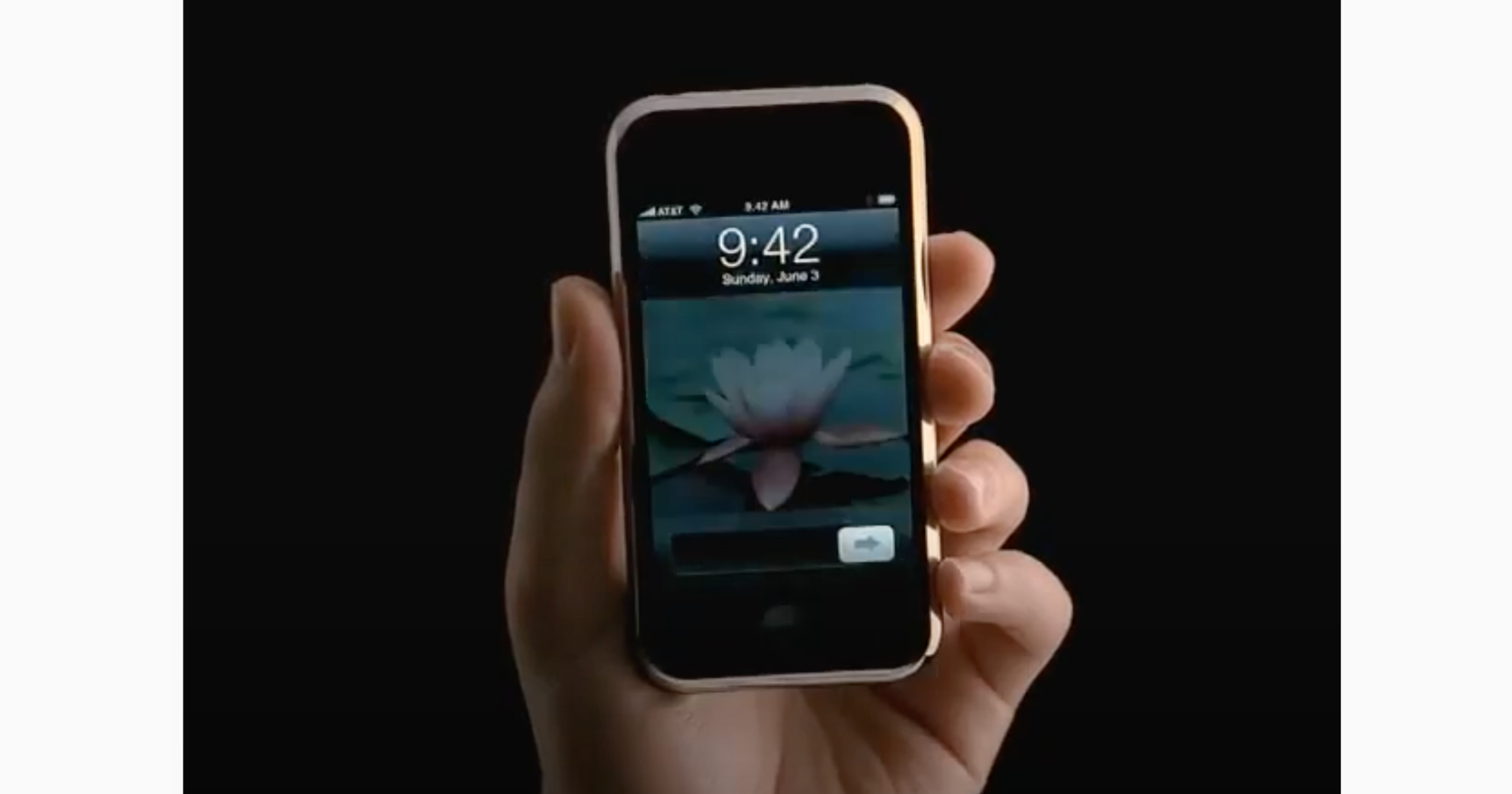 first iPhone on sale advert