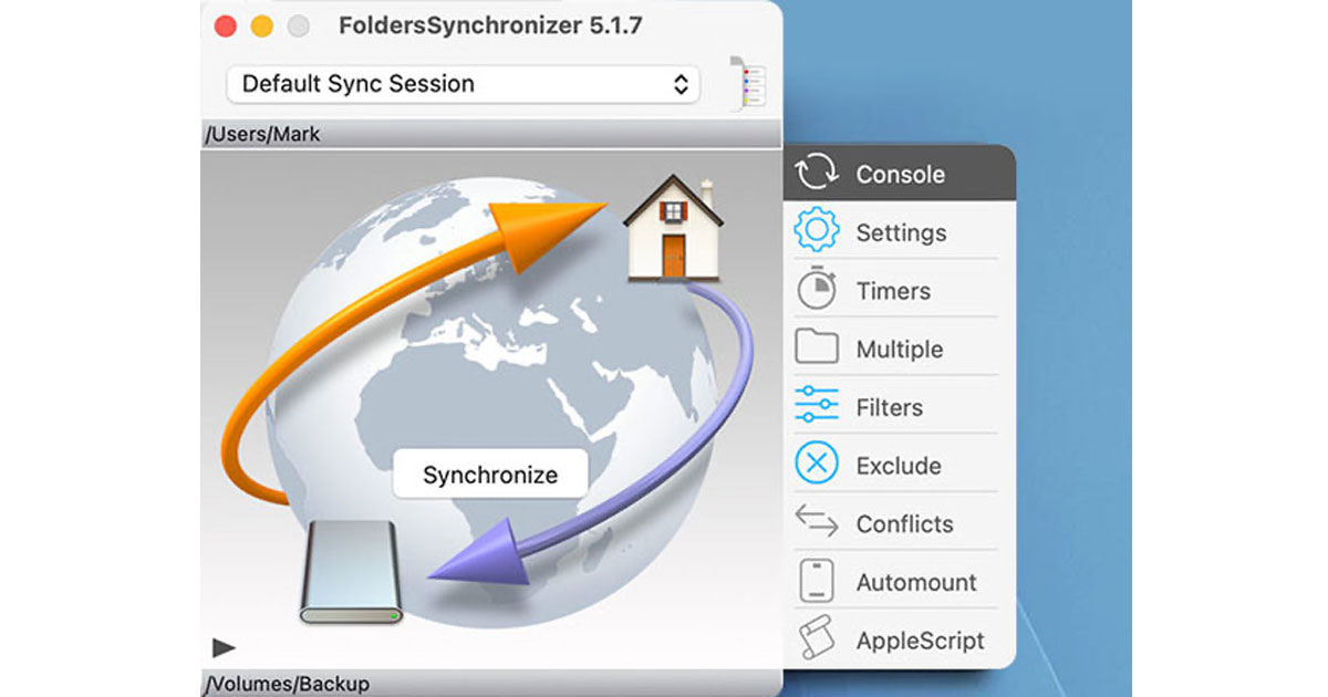FoldersSynchronizer for Mac
