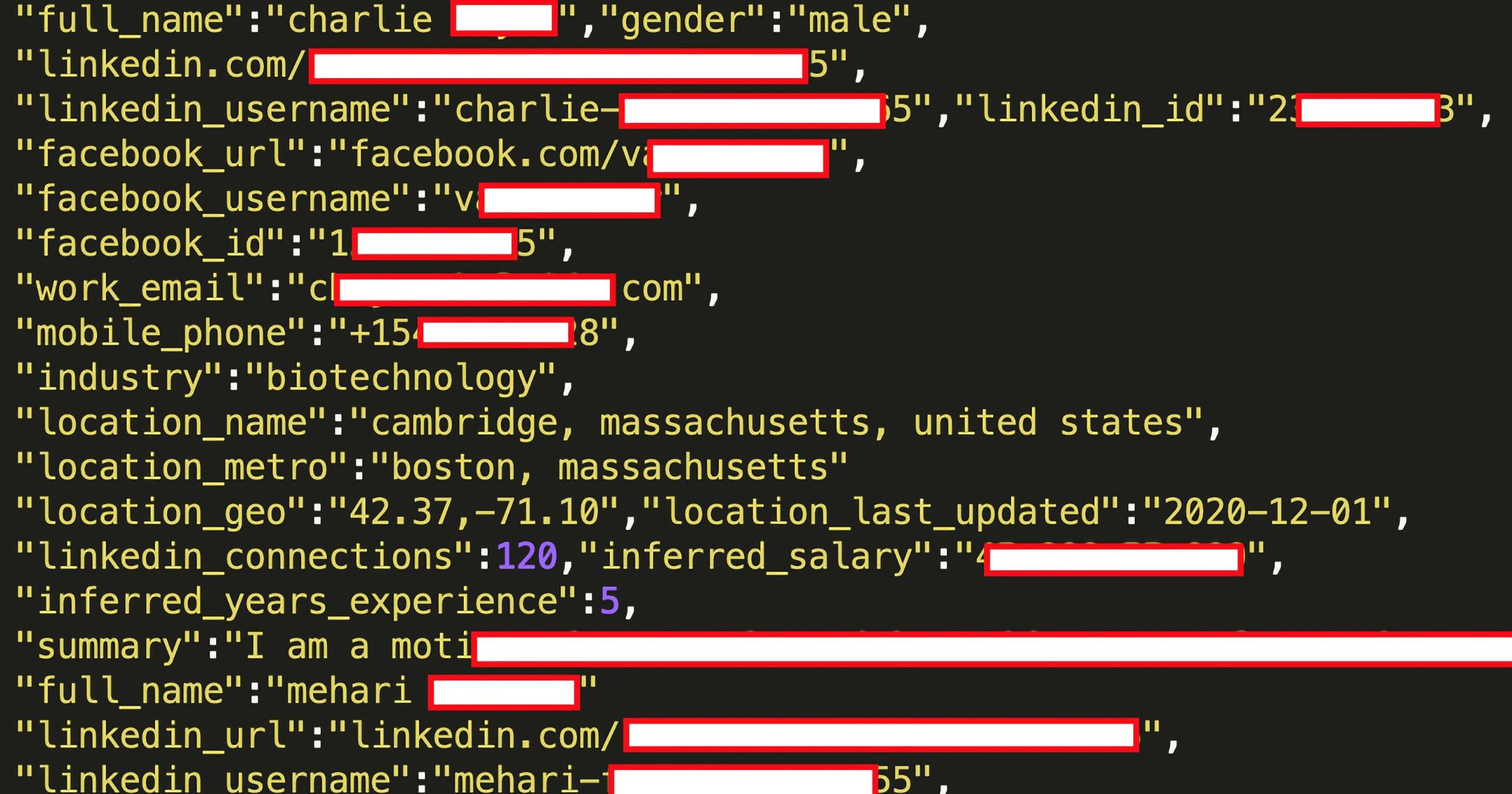 linkedin data leak