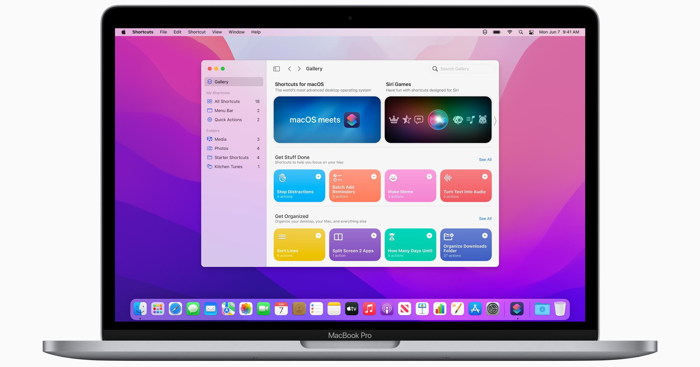 macOS Monterey Shortcuts