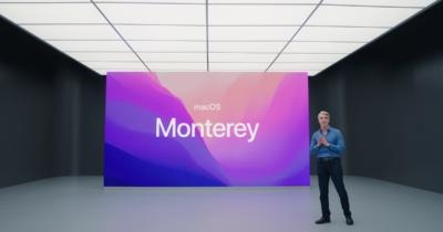 macOS Monterey announcement