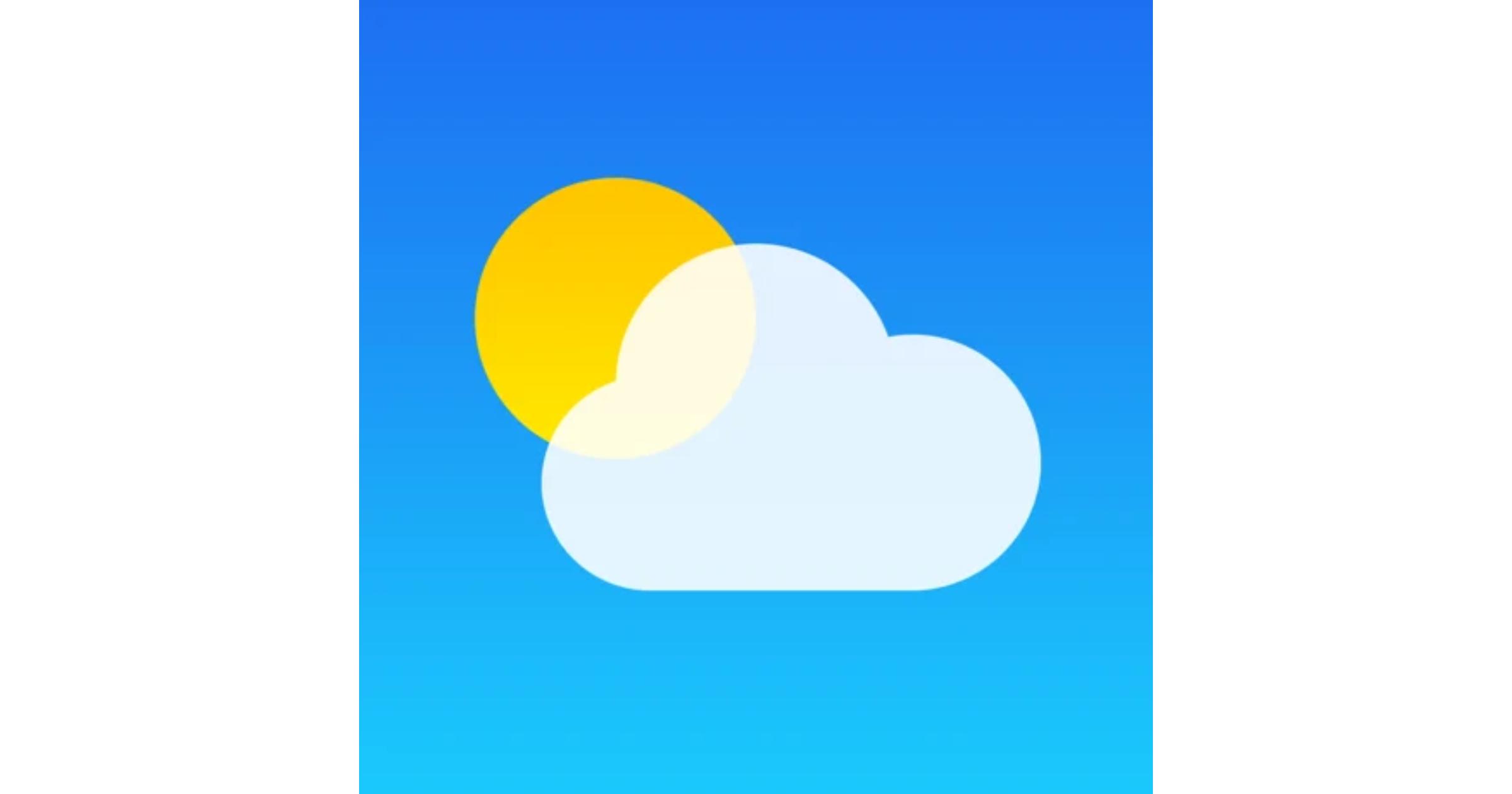 Apple Weather app logo