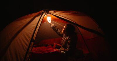 BioLite alpenglow camping lantern