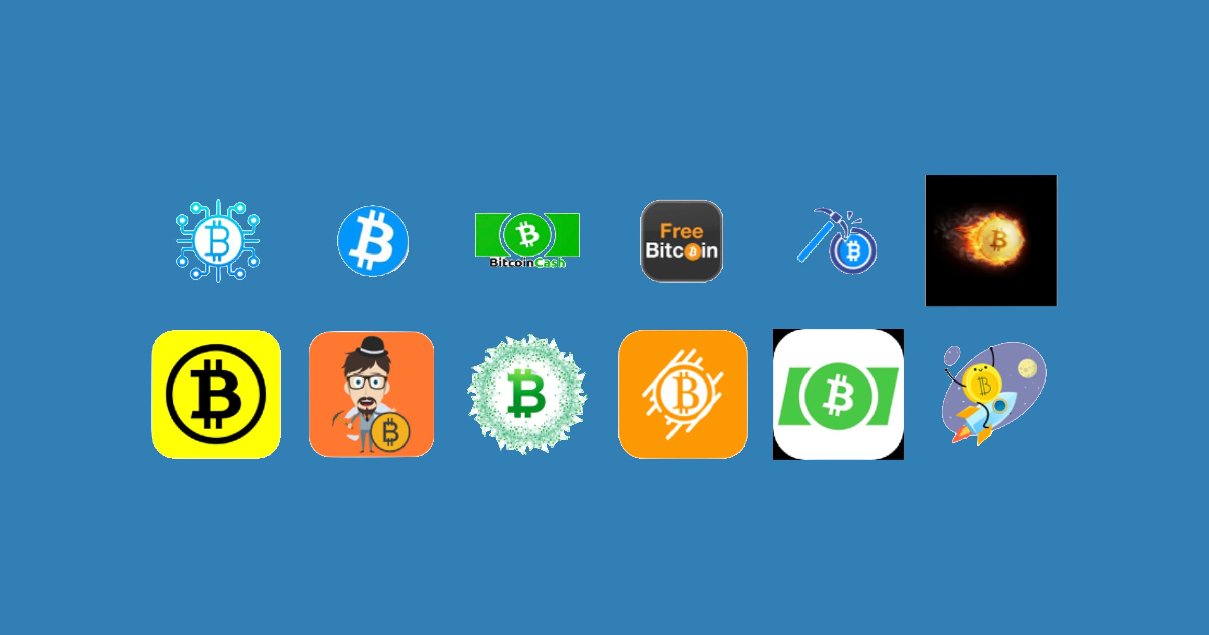 Crypto scam apps on android