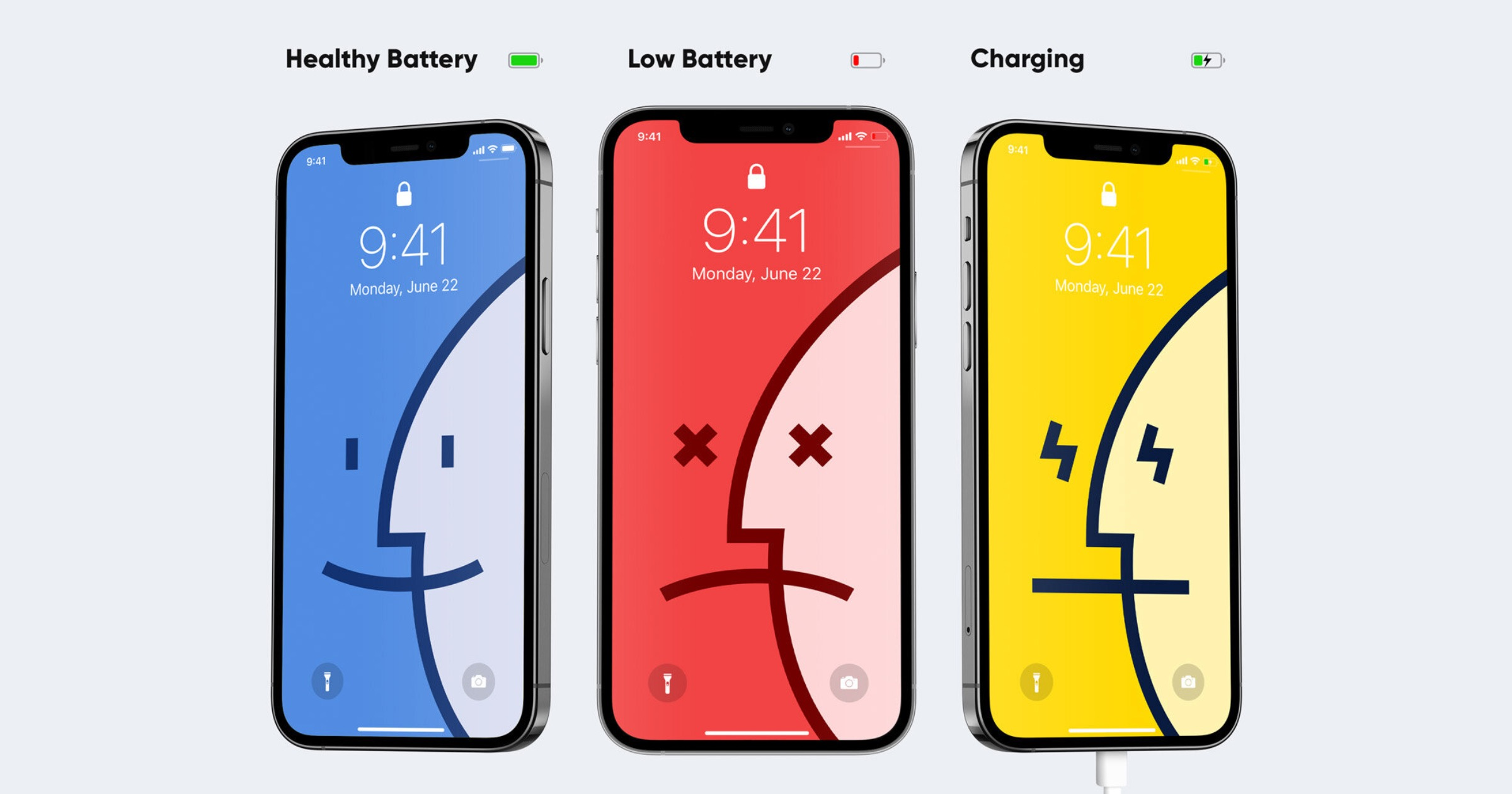 Check Out These New iPhone Battery Wallpapers