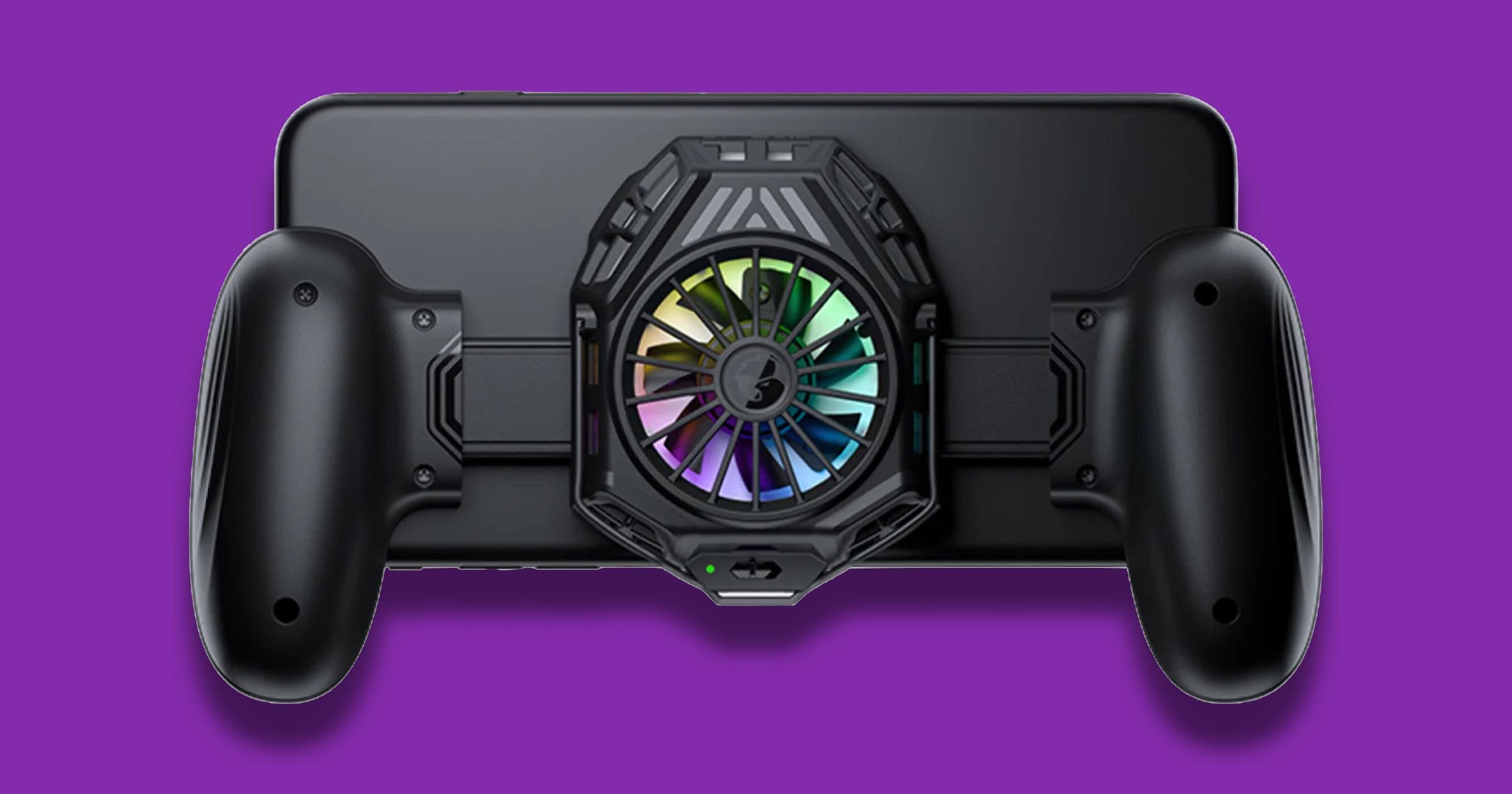 GameSir Crowdfund's F8 Pro Mobile Gaming Cooling Grip