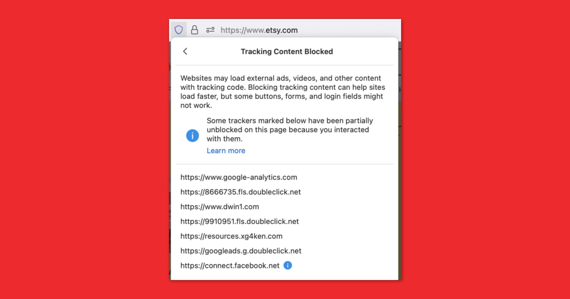 Smartblock 2.0 in Firefox 90