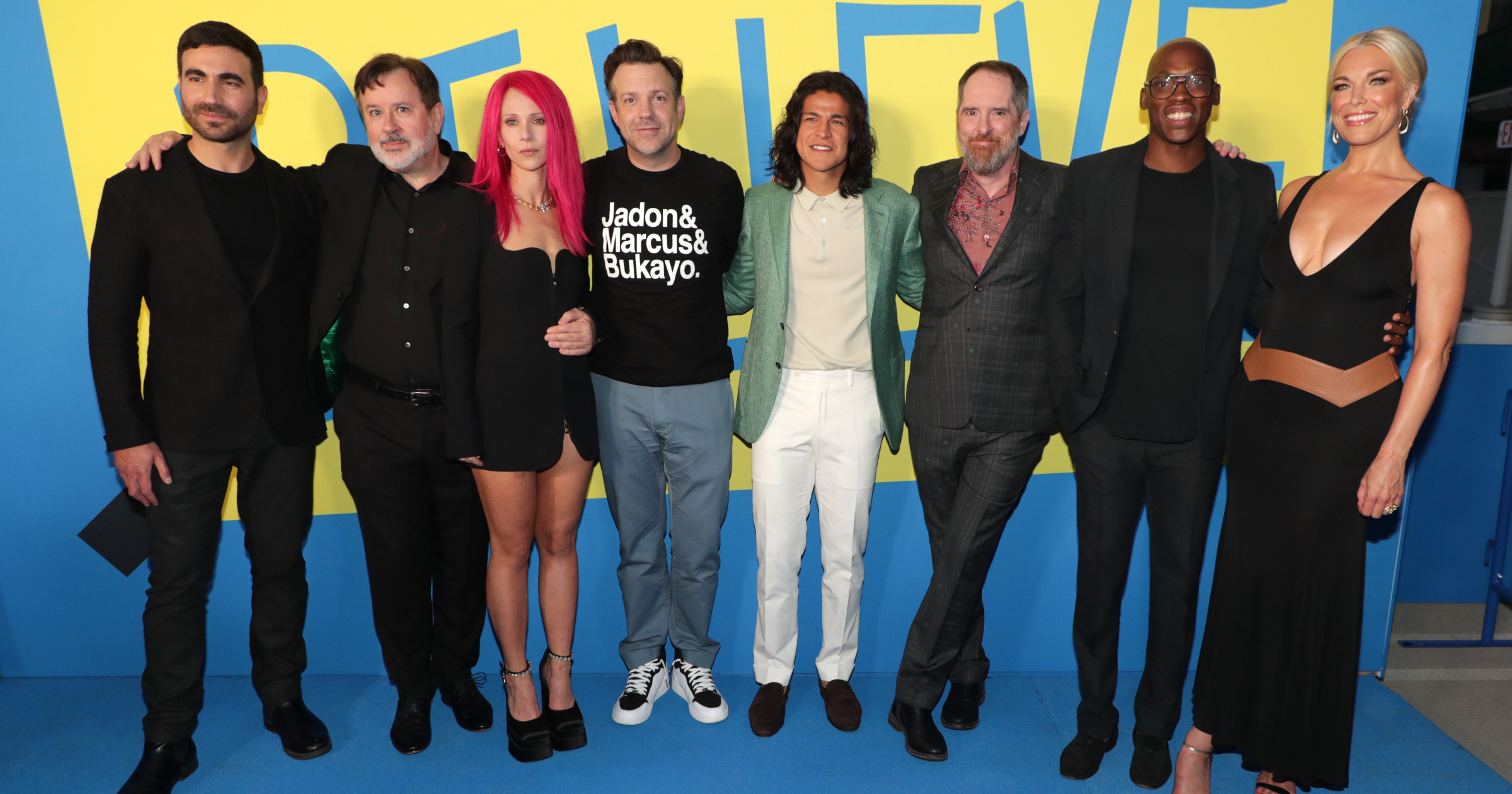 Ted Lasso cast at season two premiere