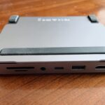 Satechi's ports at the rear of the device.