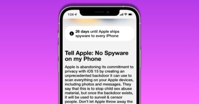 Apple CSAM privacy petition