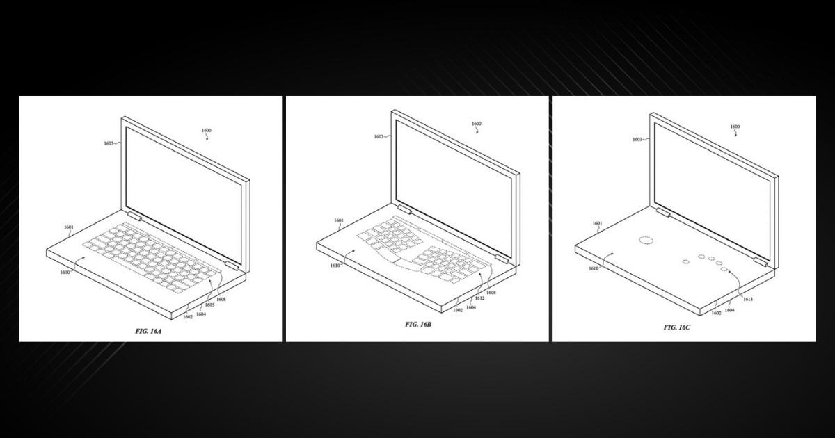 Apple Virtual Keyboard Patent