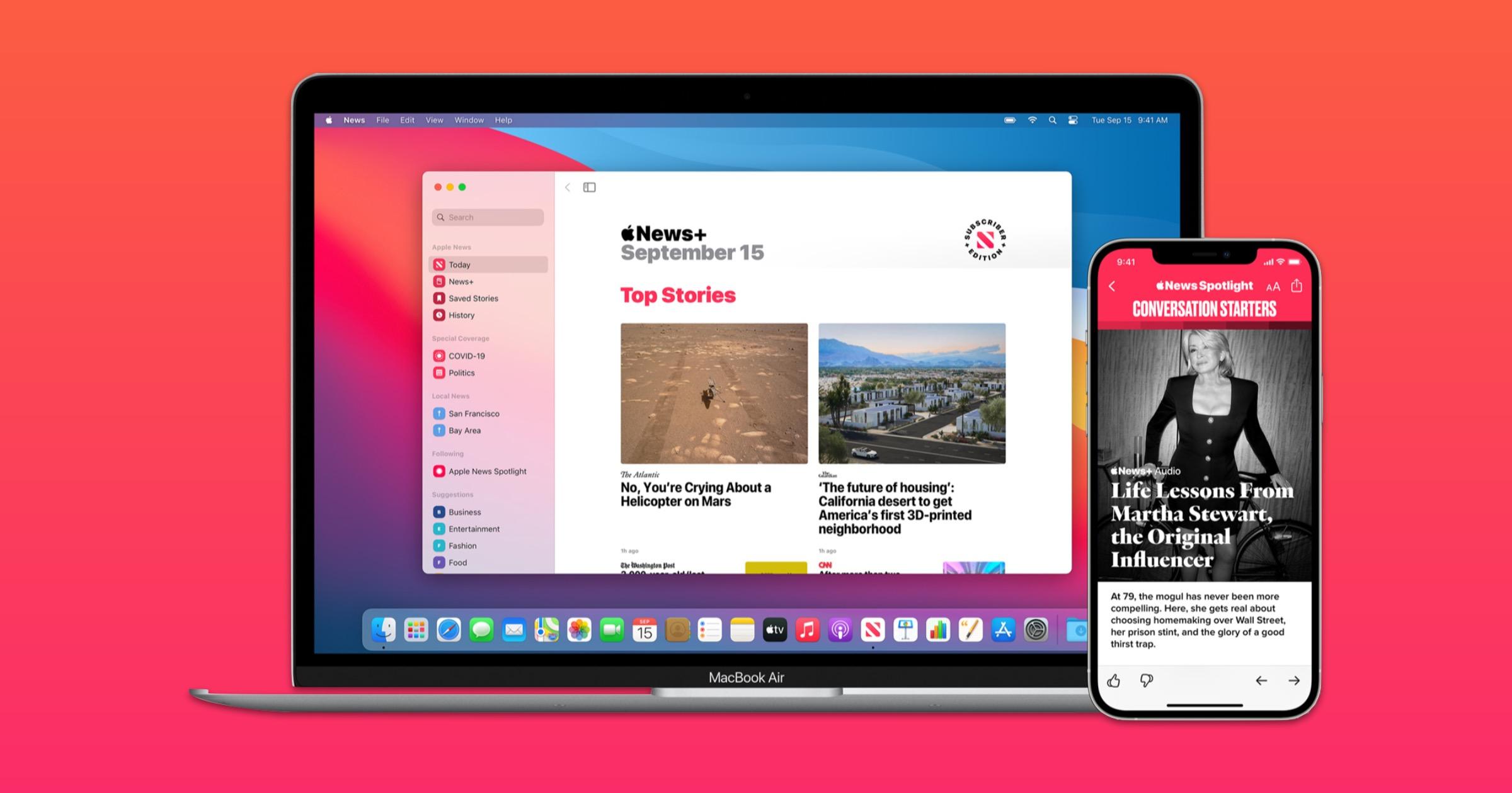 Apple news publisher program