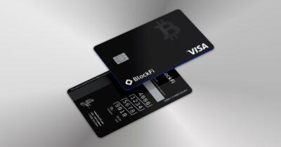 BlockFi crypto card