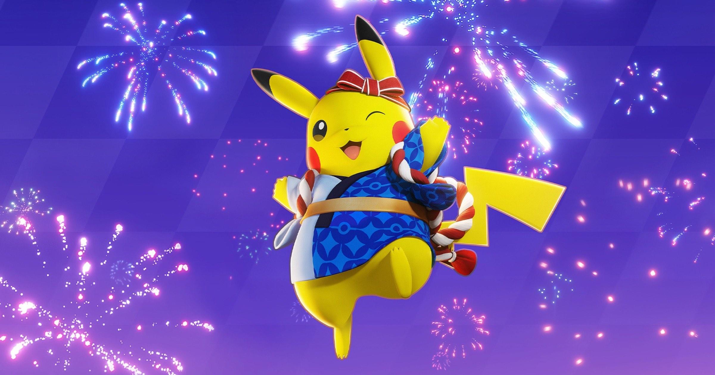 Pikachu from Pokémon unite