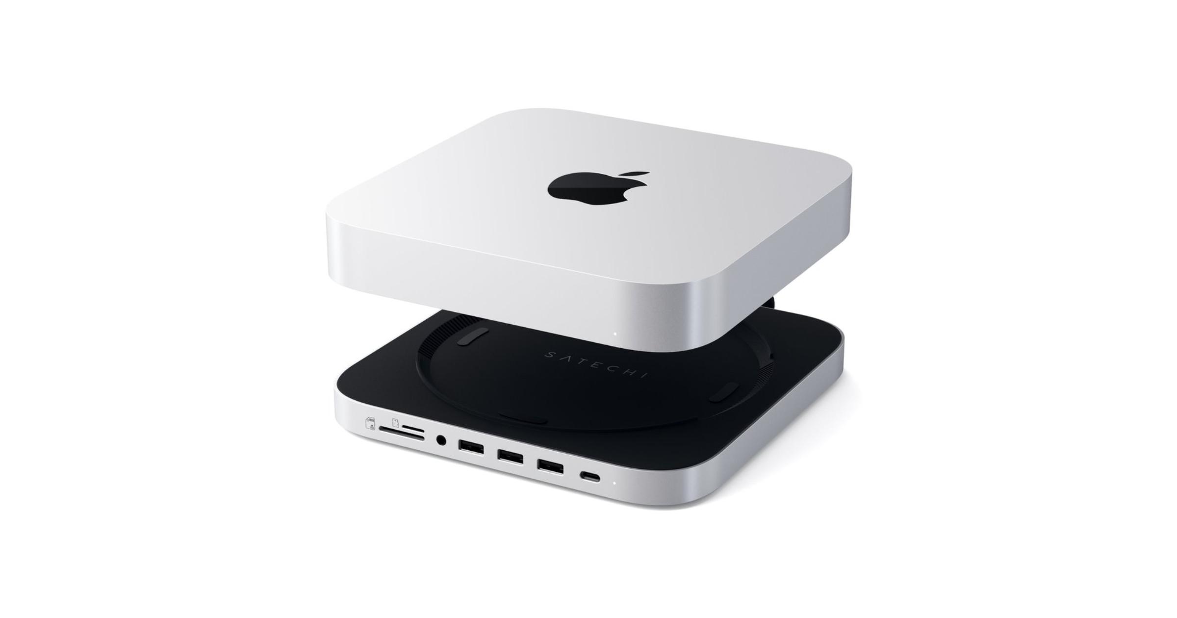 Satechi Mac mini stand and hub