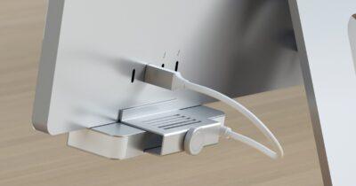 Satechi USB-C clamp hub for iMac