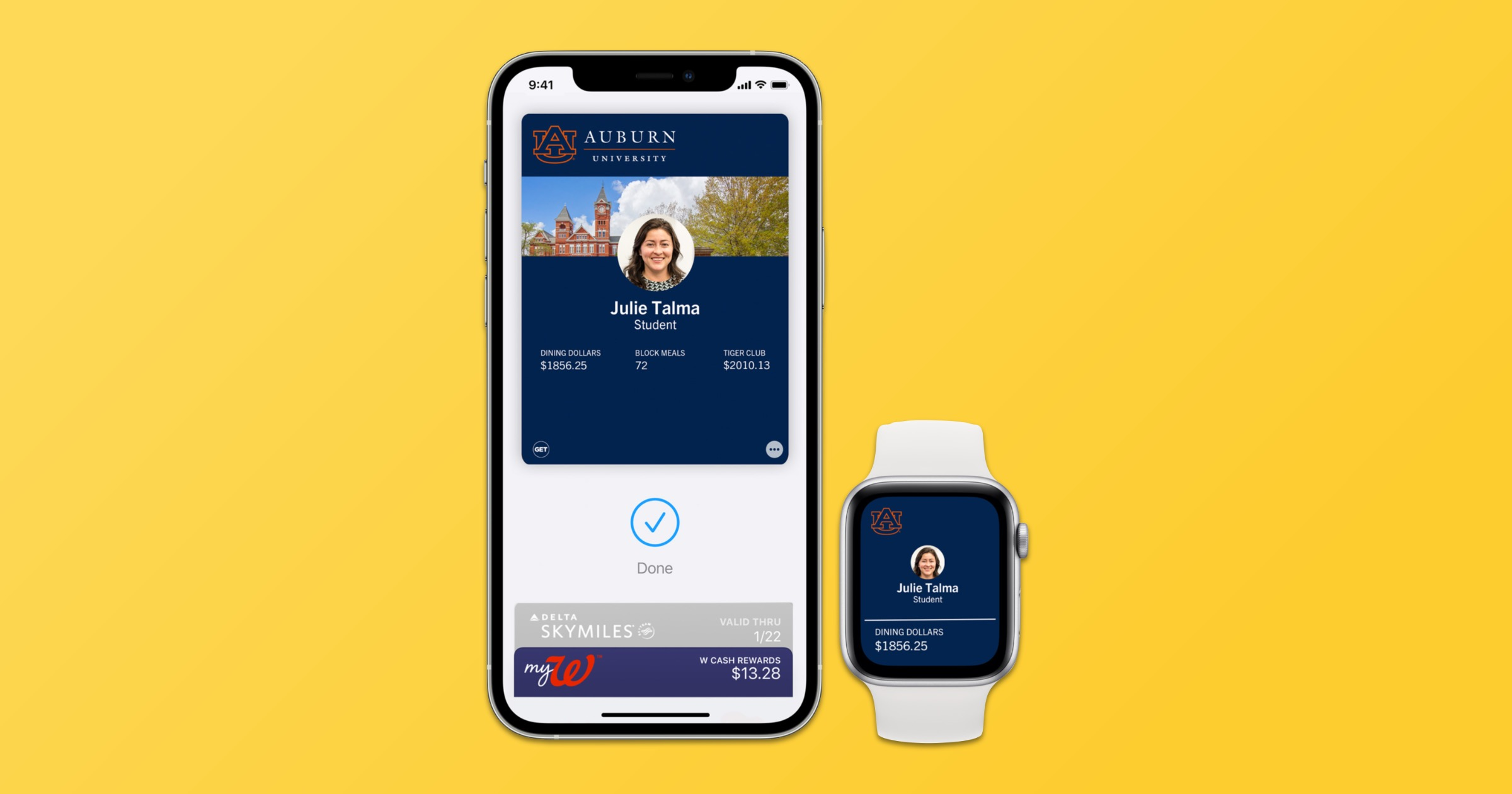 Student ID in Apple wallet