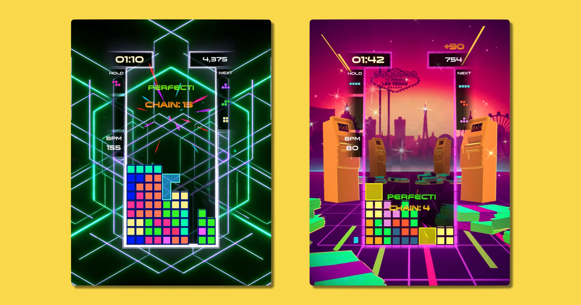 Musical Puzzle Game 'Tetris Beat' Arrives on Apple Arcade