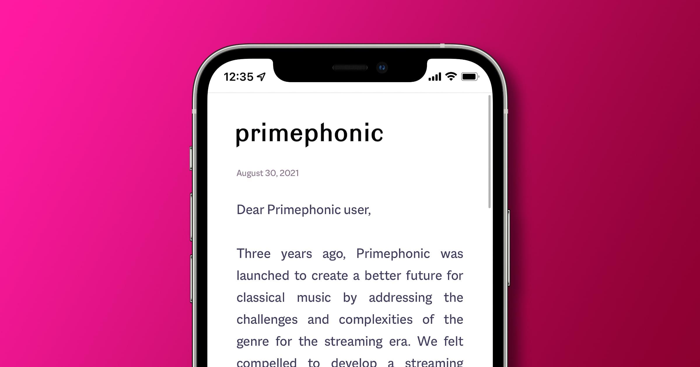 apple acquires primephonic