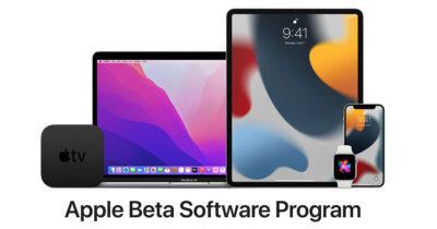 iPhone, iPad, and Apple Watch in Apple Beta Software Program
