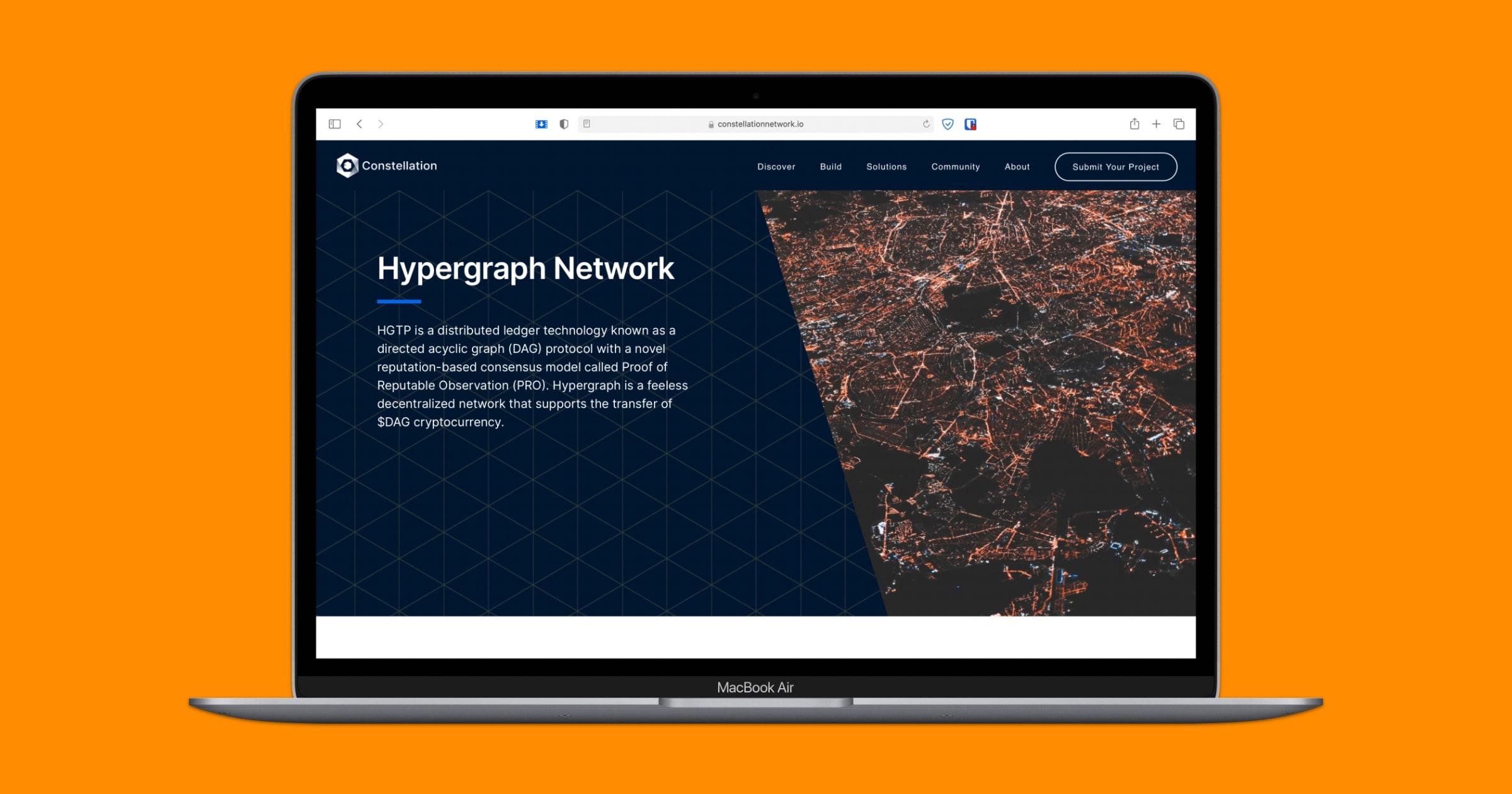 constellation hypergraph network website