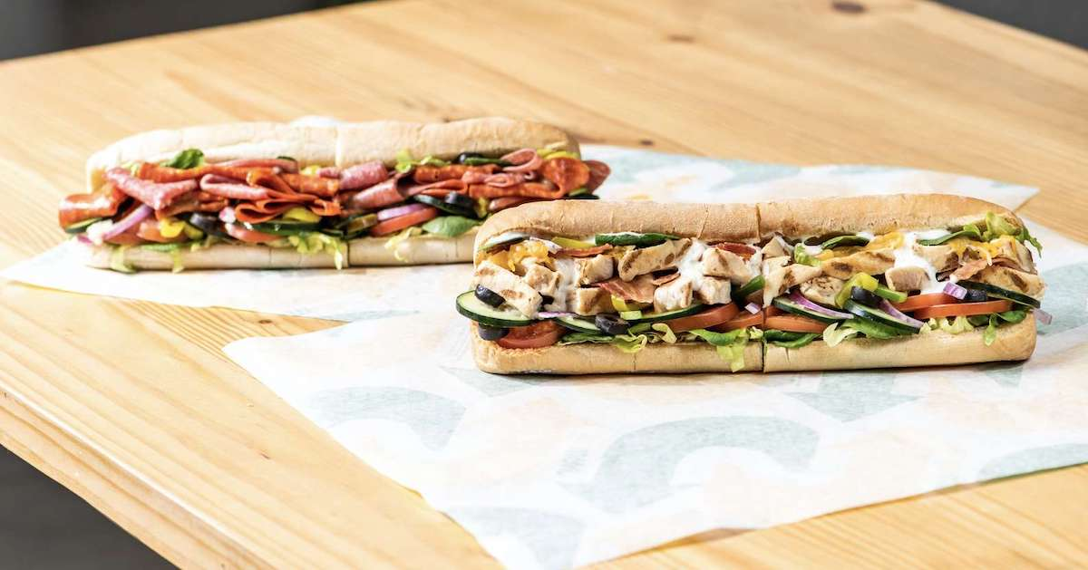 Get a Discount on a Subway Footlong With Apple Pay