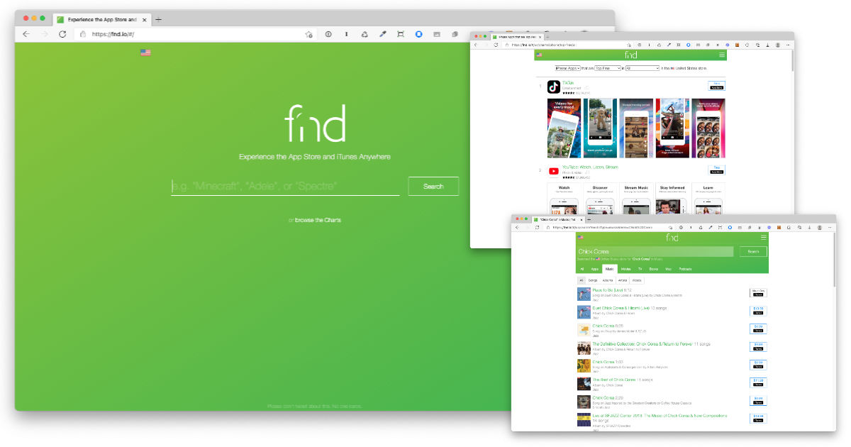 Better Apple App, Music, and Book Searches with fnd.io