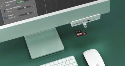 hyper 6-in-1 hub for M1 iMac