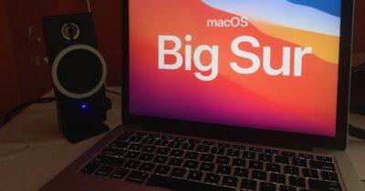 macOS Big Sur on MacBook Pro