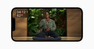 Apple Fitness+ guided meditation