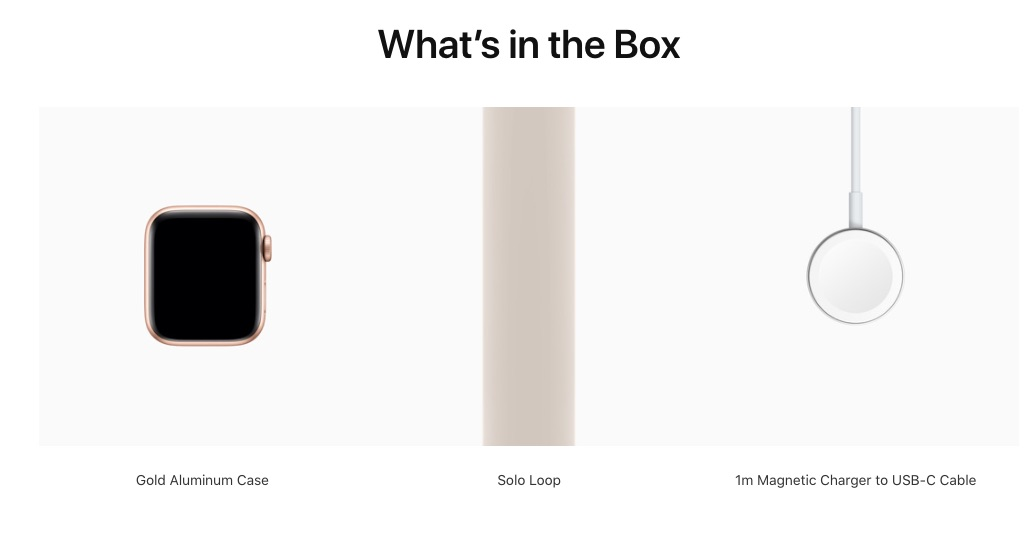 Apple Watch SE ships with USB-C charger