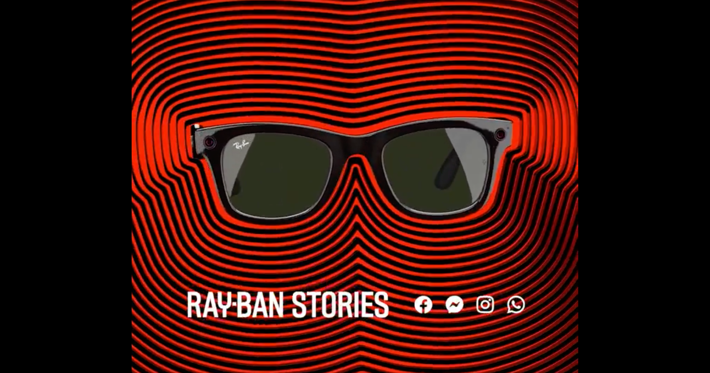 Facebook glasses Ray-Ban stories