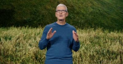 Tim Cook Intro iPhone 13 event