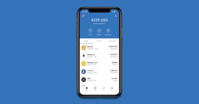 binance trust wallet app
