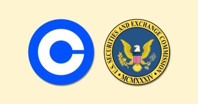 coinbase SEC logos