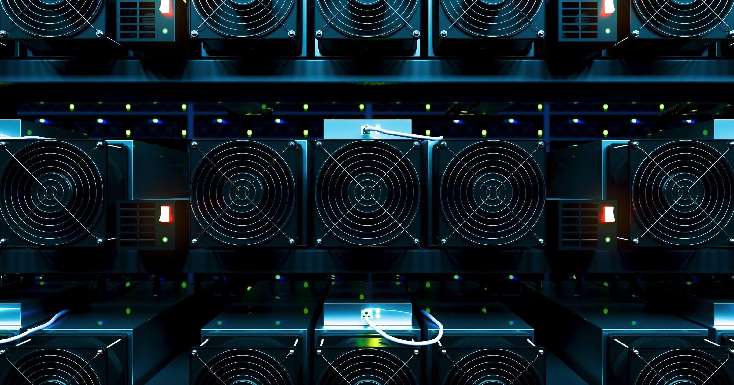 cryptocurrency mine