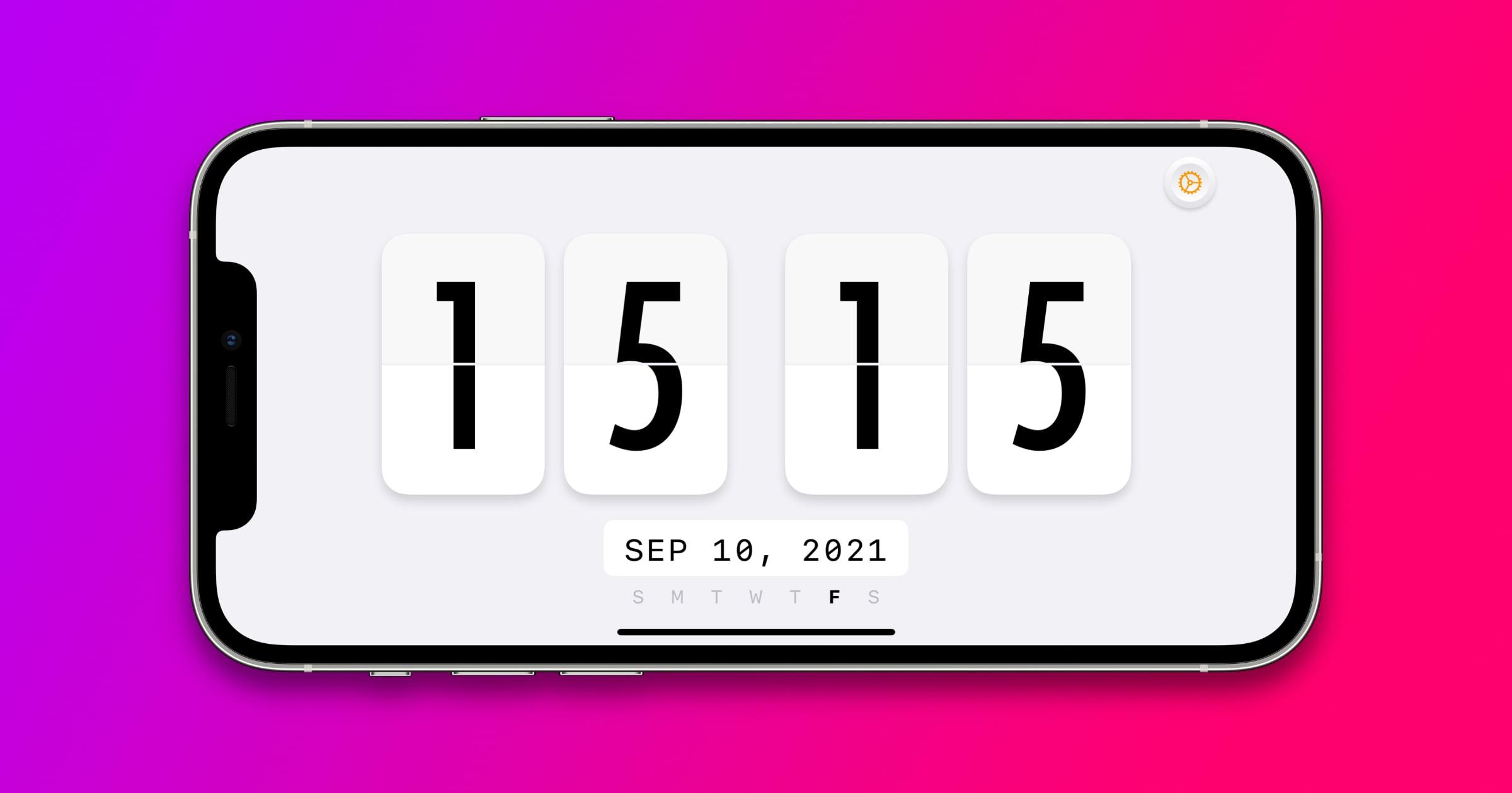 'McClockface' Update 1.3 Adds New Home Screen Widgets