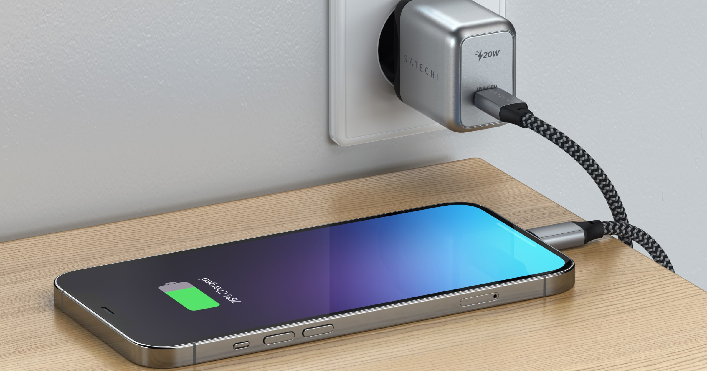 satechi 20W wall charger