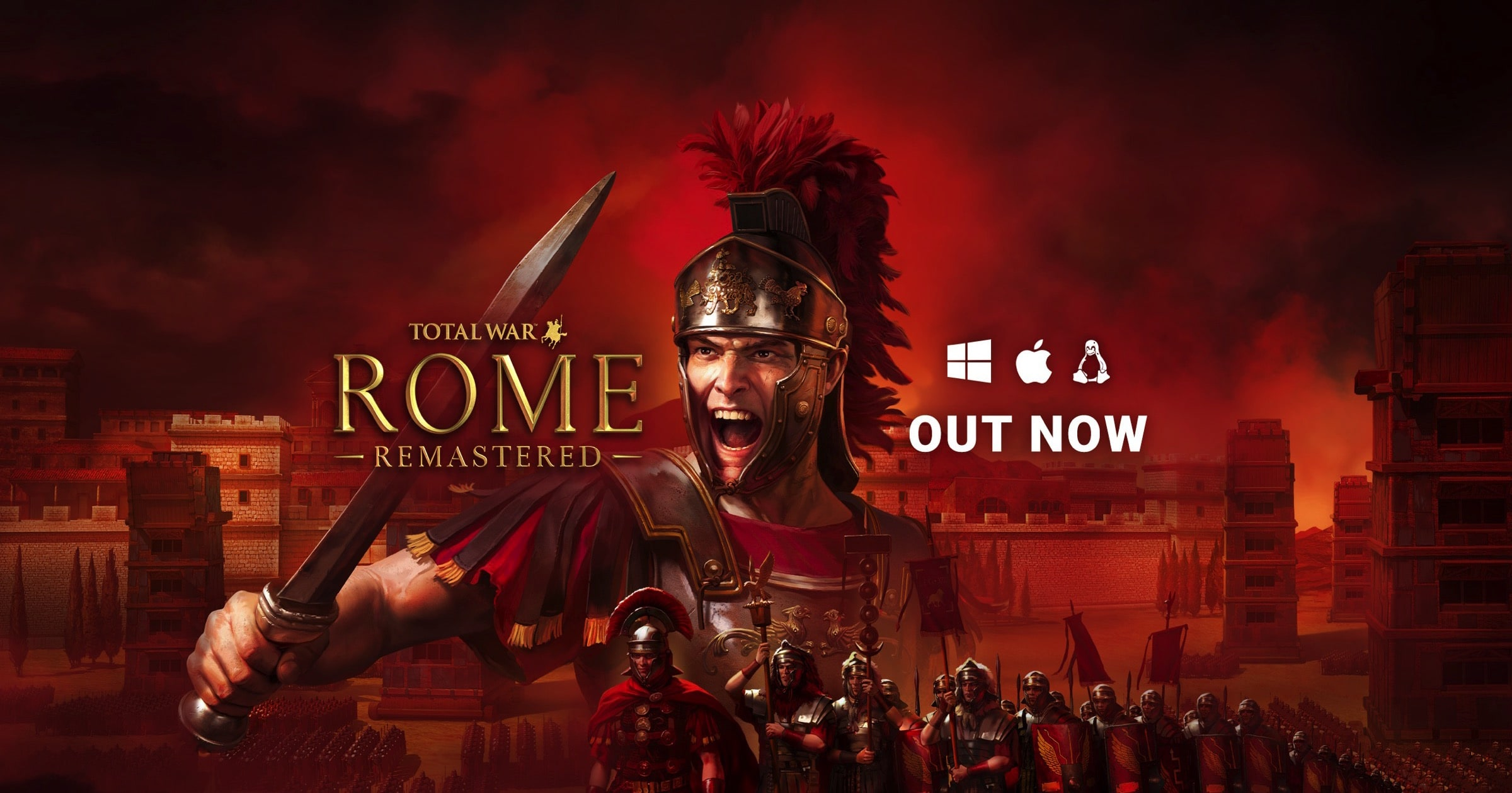 'Total War: ROME REMASTERED' Now Available for M1 Macs