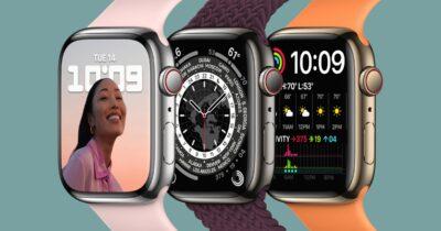Apple Watch series 7 stainless steel