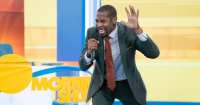 Daniel singing in 'The Morning Show' season two