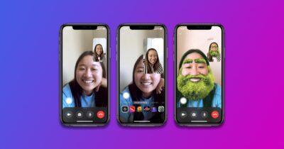 Facebook messenger group effects
