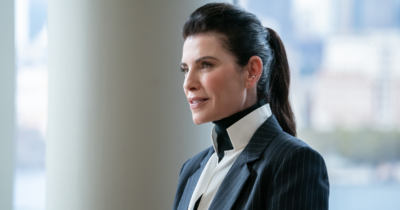 Julianna Margulies as Laura Peterson in The Morning Show