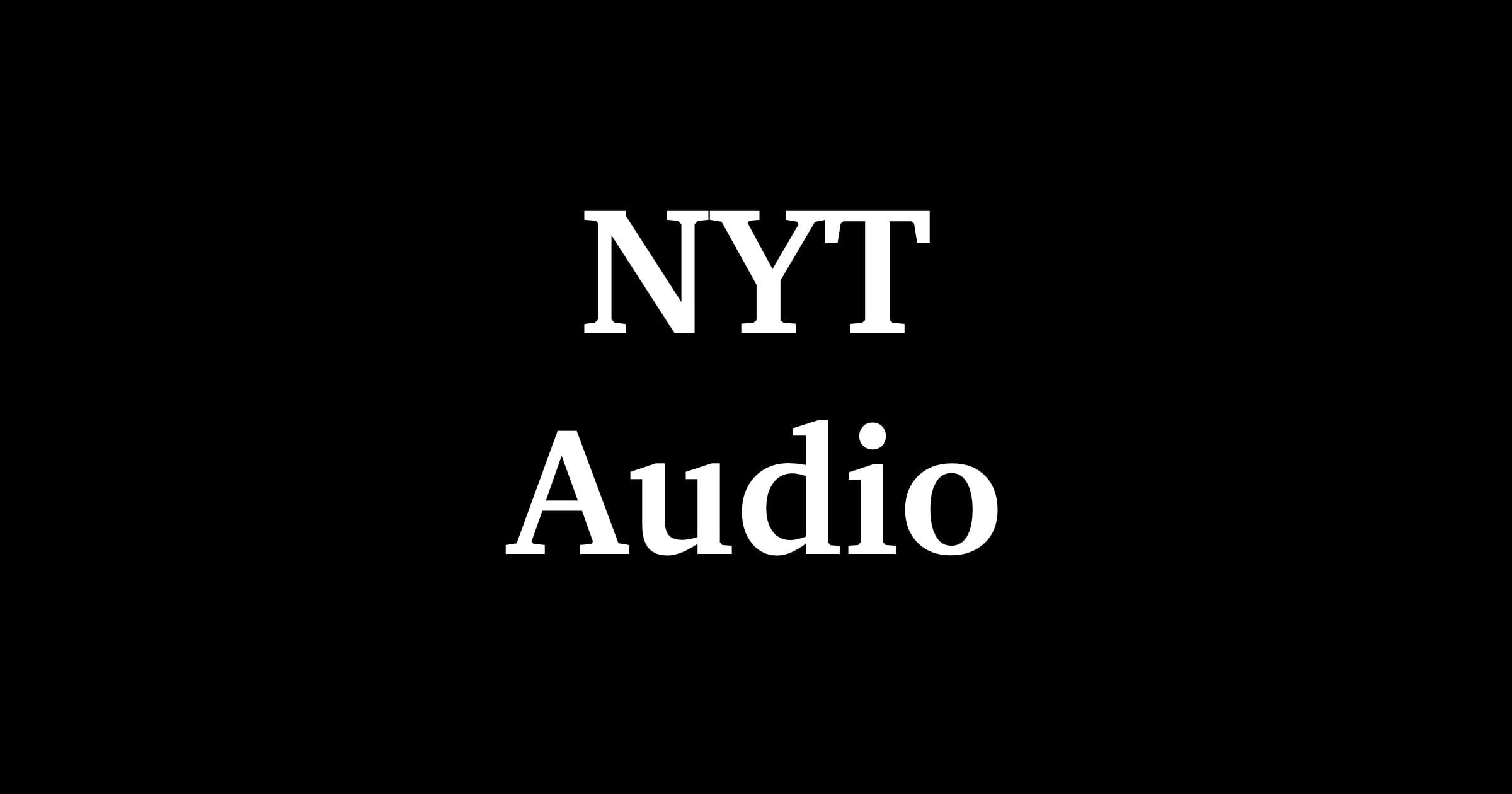 NTY audio app