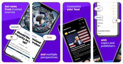 Yahoo news app