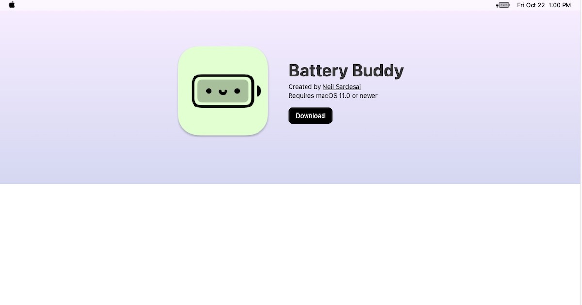 Battery Buddy Makes Charging Your MacBook More Fun